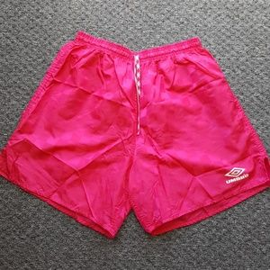 Vintage UMBRO checkered shorts